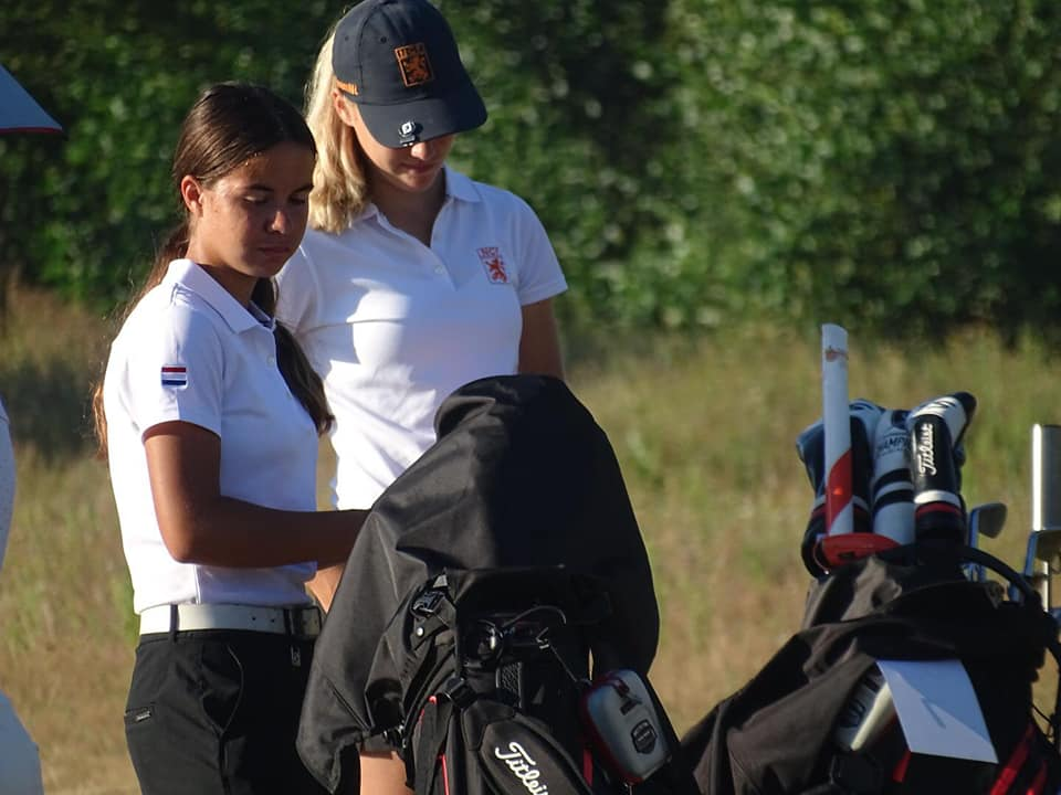 3e plaats Rosanne Boere NK Golf -18 jaar.