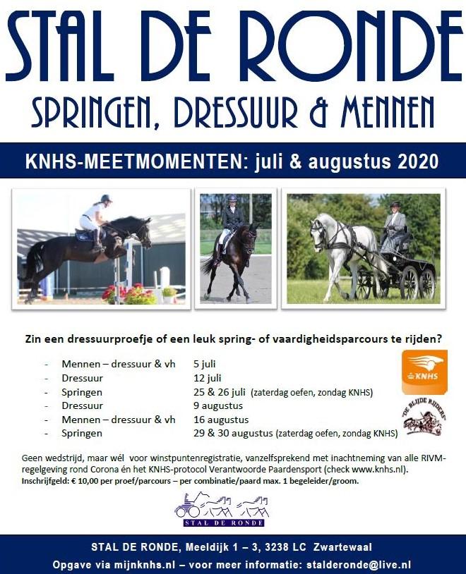 Dressuurclinic met Malene Nootenboom bij Stal De Ronde.