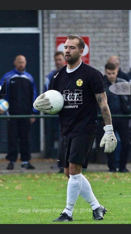 Stephan van Asperen keeperstrainer SC Botlek.