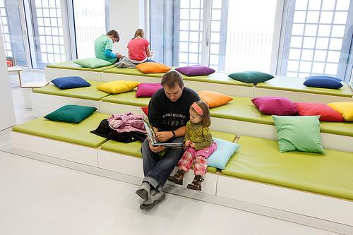 Stadtbibliothek Stuttgart Lesebereich Kinder