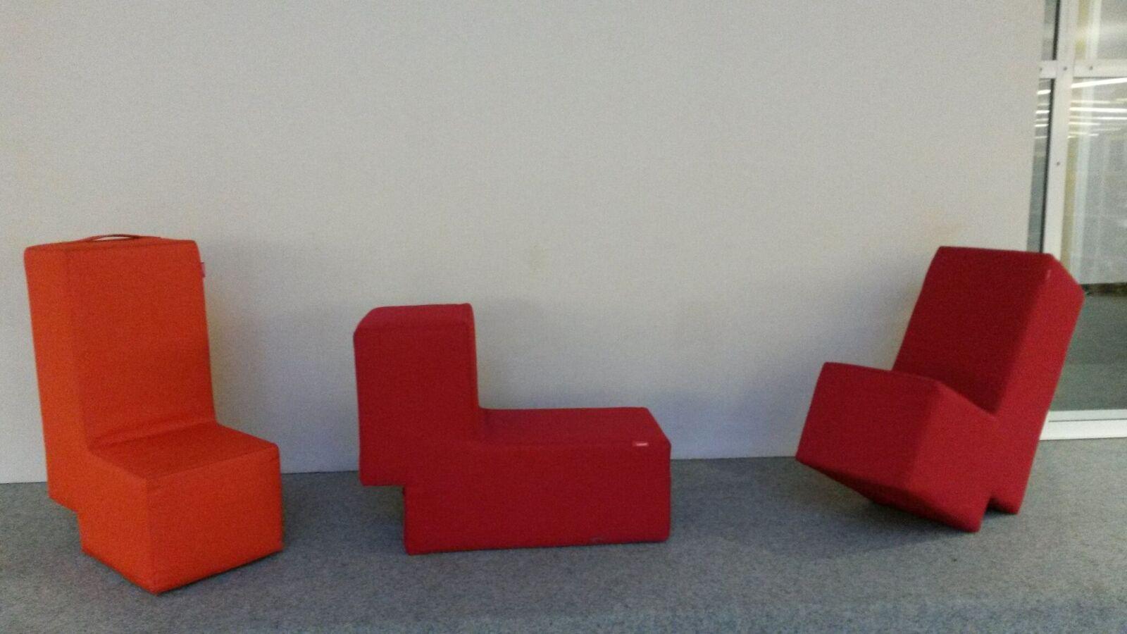 Sitzhocker für Zentralbibliothek