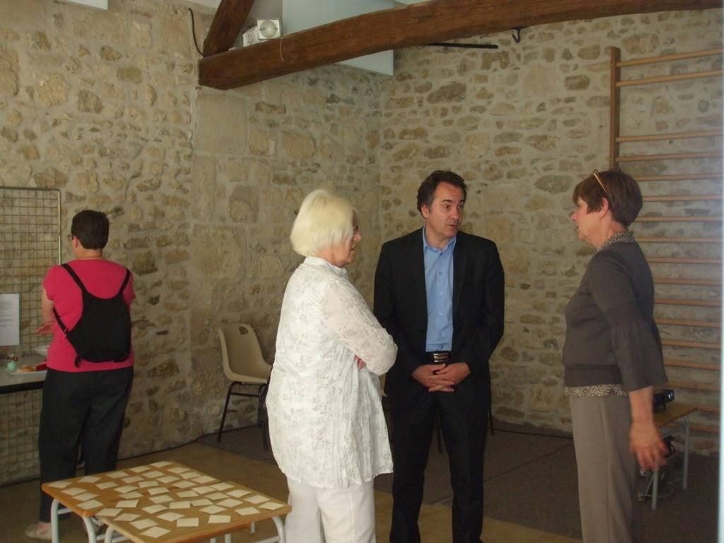 Mr Jérôme FURET nous a rendu une petite visite