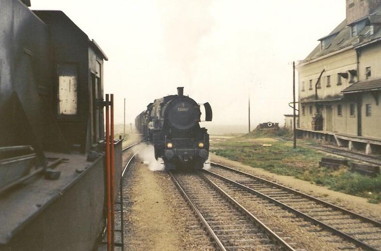 Zugkreuzung in Weitersfeld