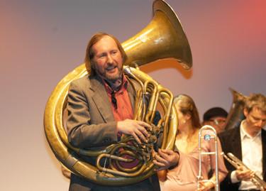 Wolfi von der Express Brass Band