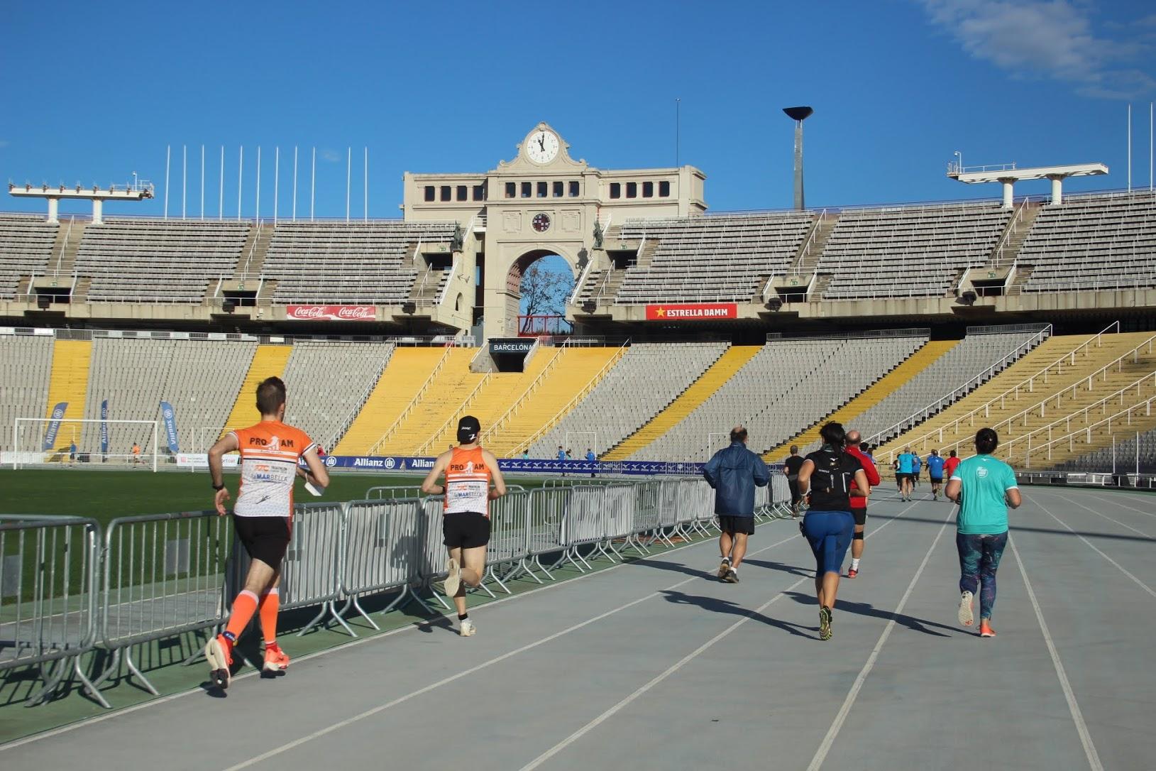 Adam Maijò y Anna Bové destacan como losmás rápidos en la carrera Jean Bouin más atípica
