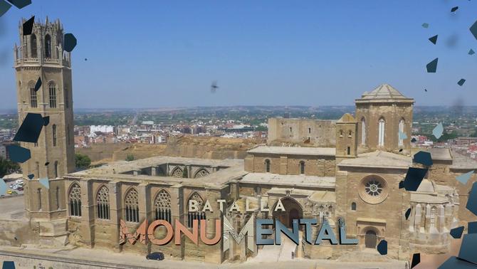 La Seu Vella de Lleida es proclama monument favorit de Catalunya