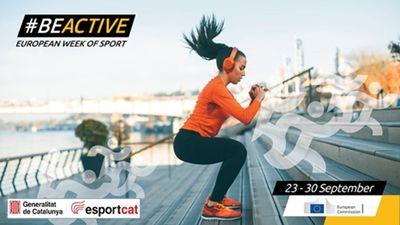 Del 23 al 30 de setembre participeu en la Setmana Europea de l'Esport!