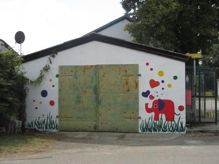 Ein Elefant für Schrattenthal! : )  (Sommer 2013)