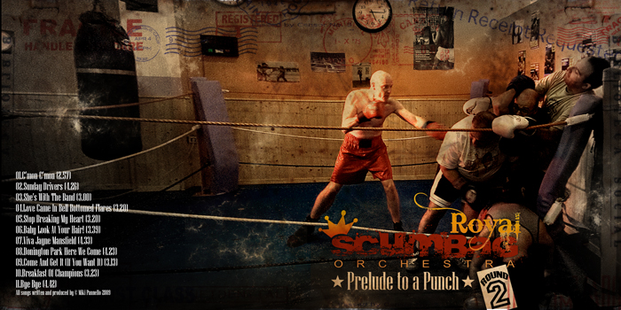 Album cover of Royal Scumbag Orchestra. Preluce to a Punch