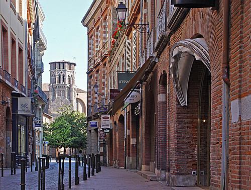 Jean Jacques Coiffures dans le quartier historique de Toulouse...