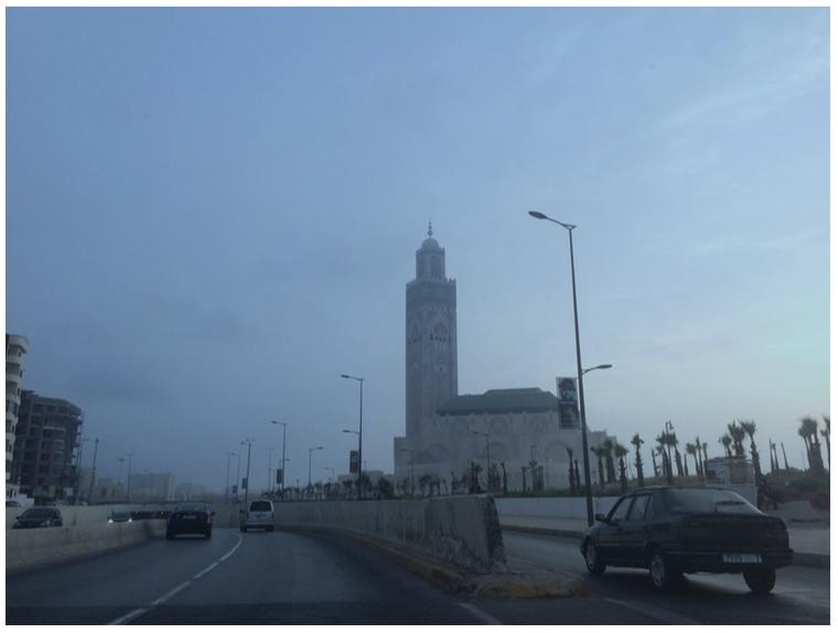 Image 1: la mosquée Hassan II
