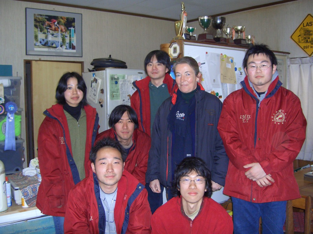 2005年 西根リグループにて マーガレットさんのクリニック