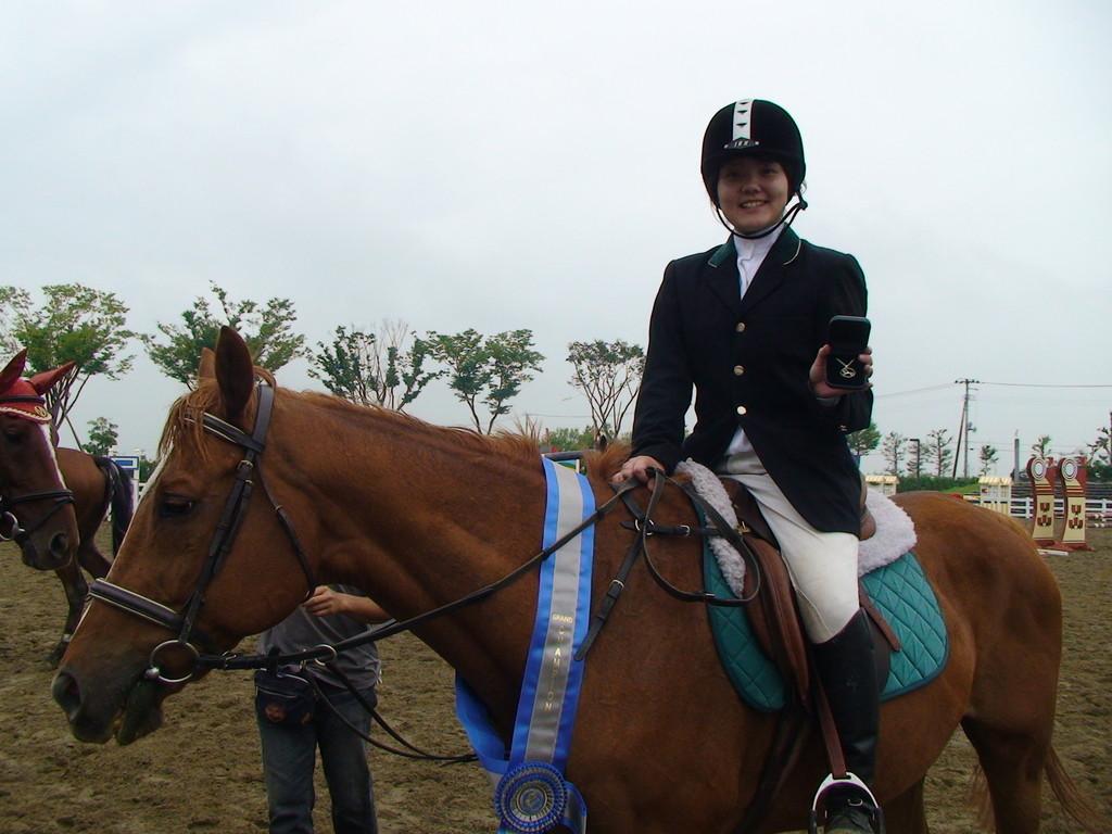 チャトラン&佳奈ちゃん 2008年東北ジャンプサーキットFinal