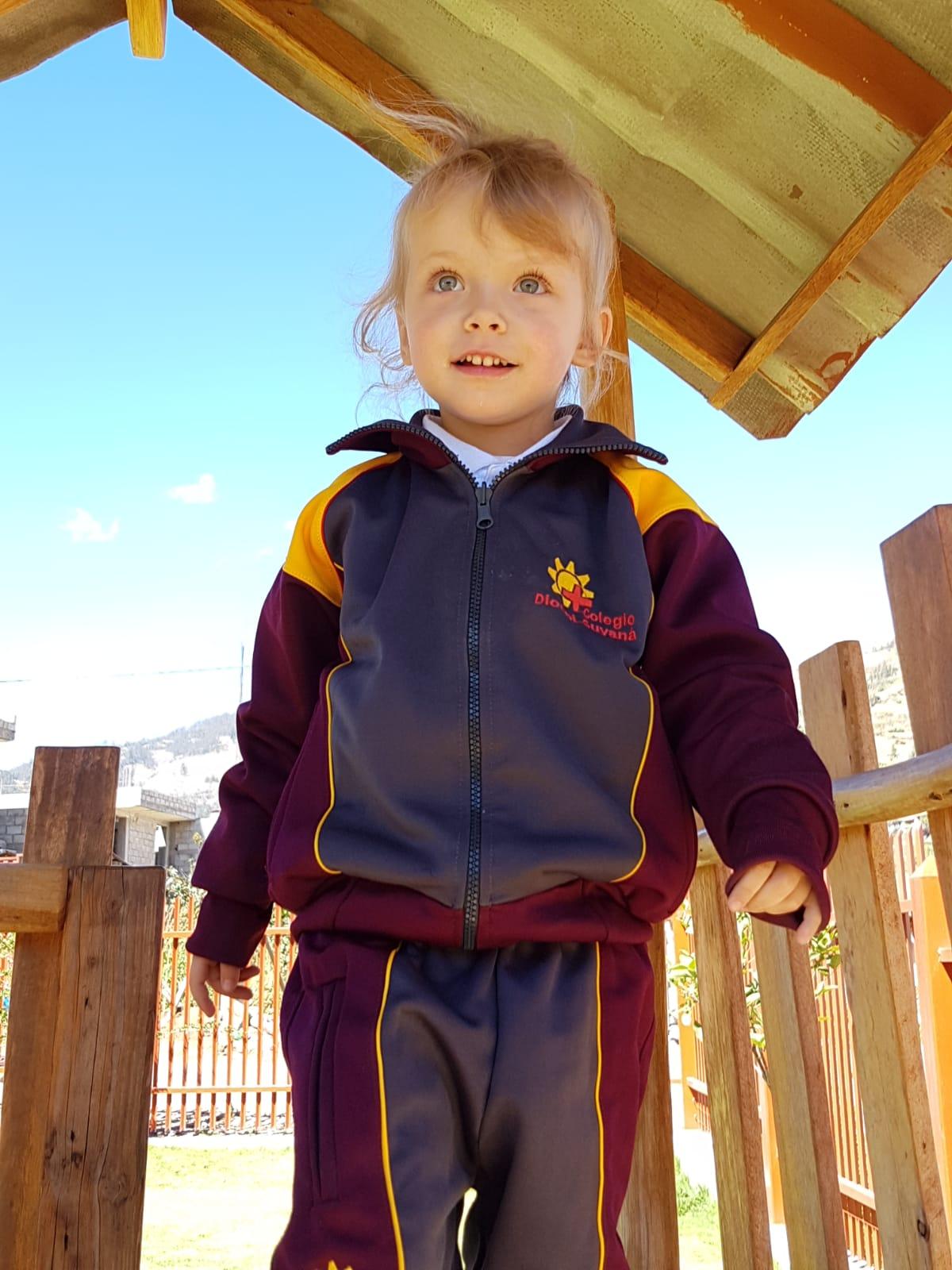 Johanna im Kindergarten...