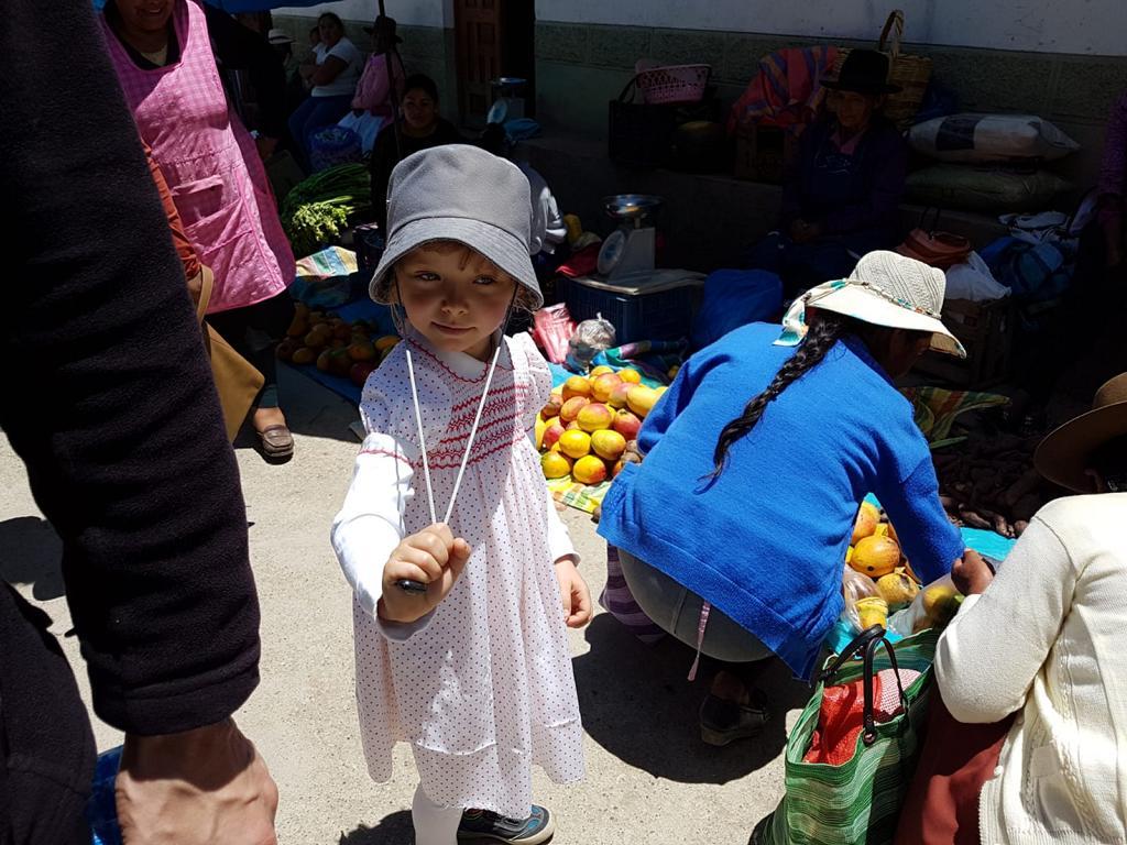 Und in Curahuasi auf dem Wochenmarkt ...