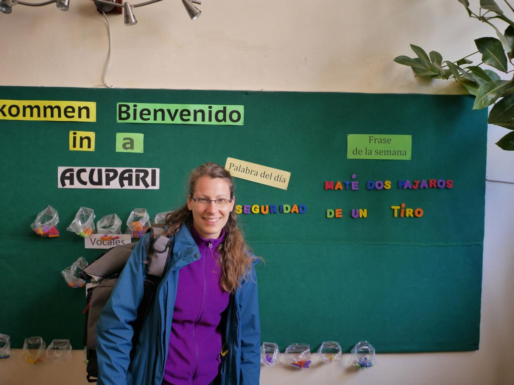ACUPARI is a language school for Spanish, German and Quechua.