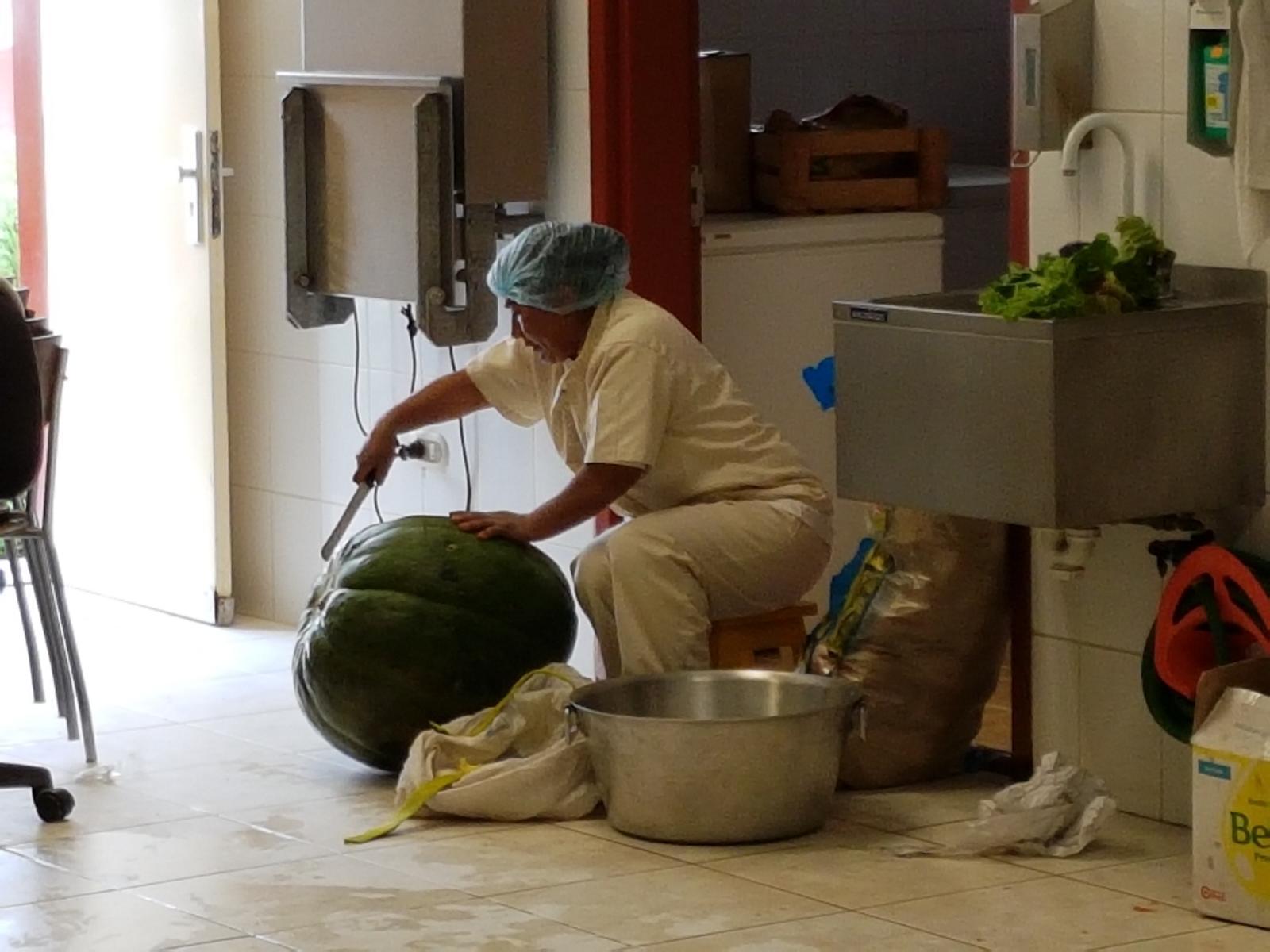 Ein häufiges Gemüse in der peruanischen Küche: Kürbis.