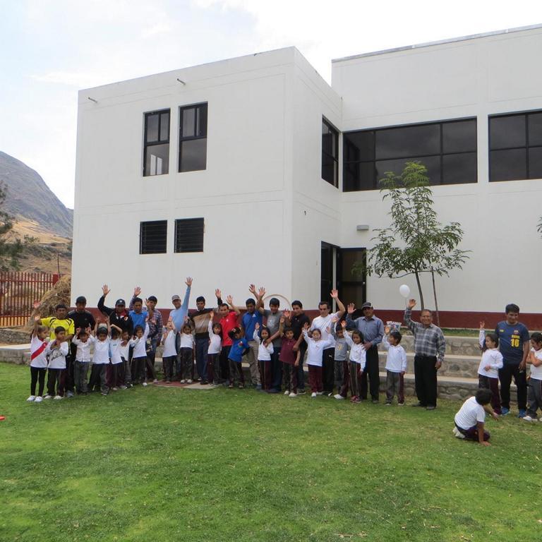 Als Teil des Projektes haben die Schüler einen halben Tag zusammen mit ihren Vätern verbracht.
