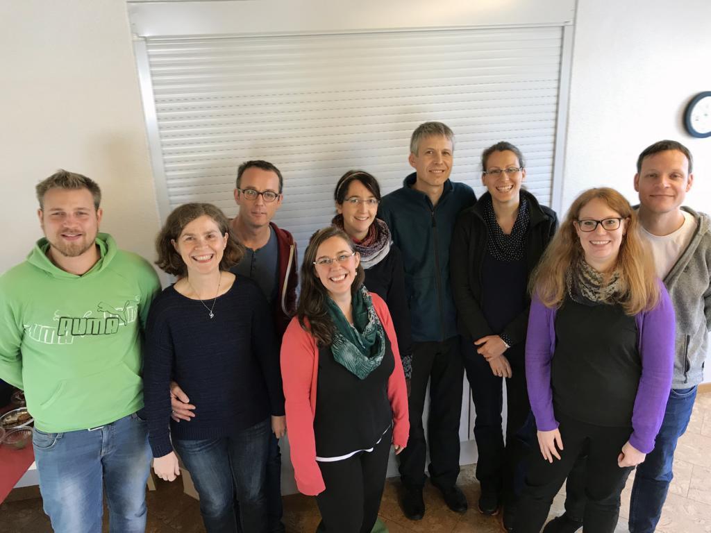Die Teilnehmer des Missionars-Vorbereitungskurses bei der VDM in Bassum.
