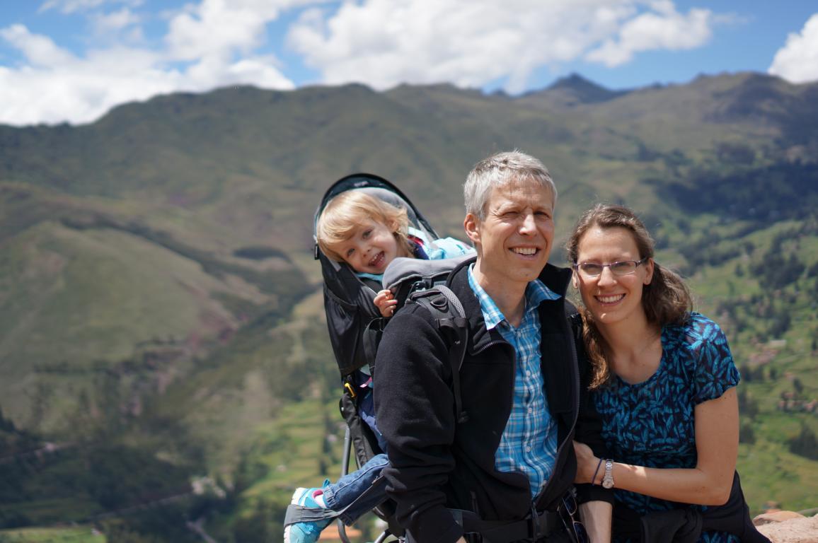 Am höchsten Punkt auf etwa 3550 Metern.