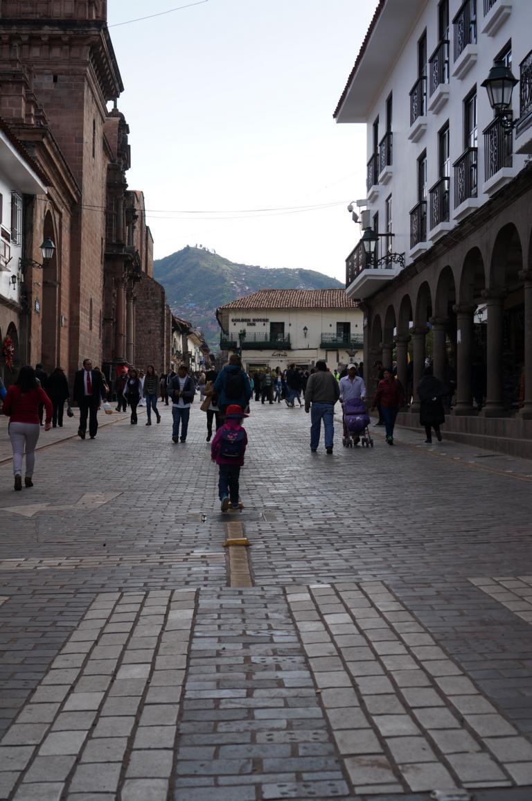 Ein ungewohnter Anblick: Einige Straßen der Altstadt sind für den Autoverkehr gesperrt.
