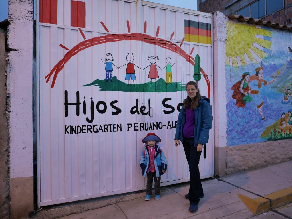 Der peruanisch-deutsche Kindergarten.