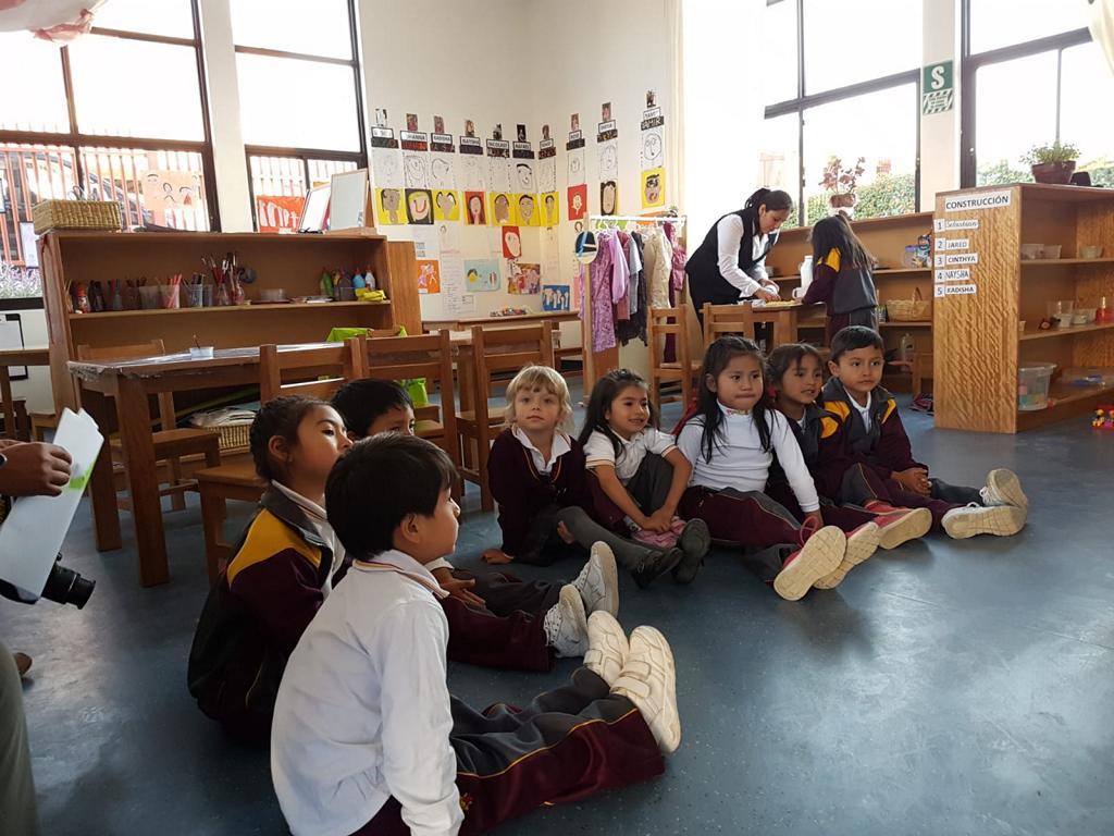 Auch der Kindergarten hat Interessierte daran teilhaben lassen, was Elemente eines Vormittags sind.