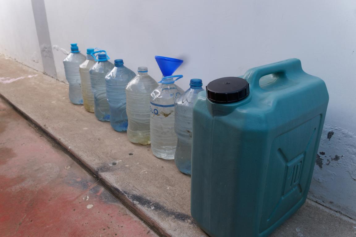 Wasservorräte.