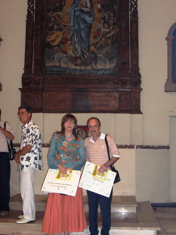 foto ricordo nella bella chiesa di S. Antonio sede della Rassegna