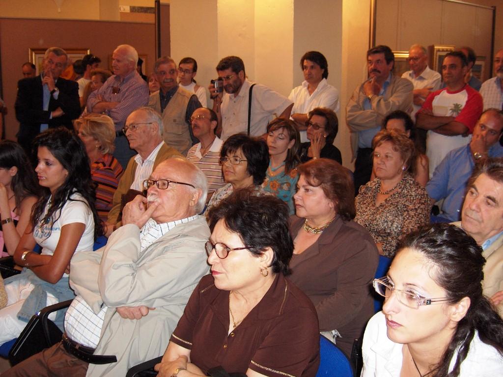 Apertura e presentazione della VII Rassgna d'Arte Contemporanea_Celico (CS)_2005