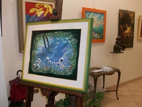 mio quadro in mostra