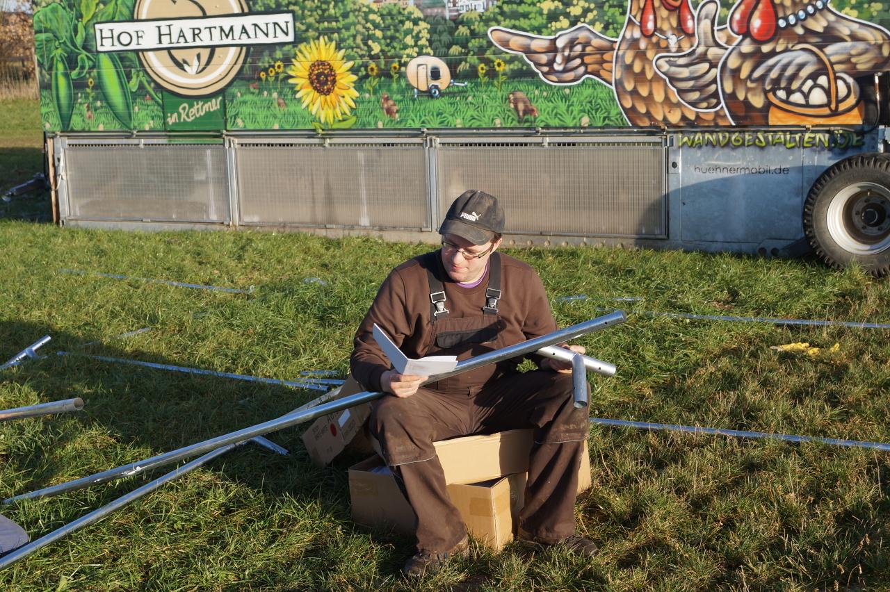 nicht ganz die übliche Arbeit eines Landwirts