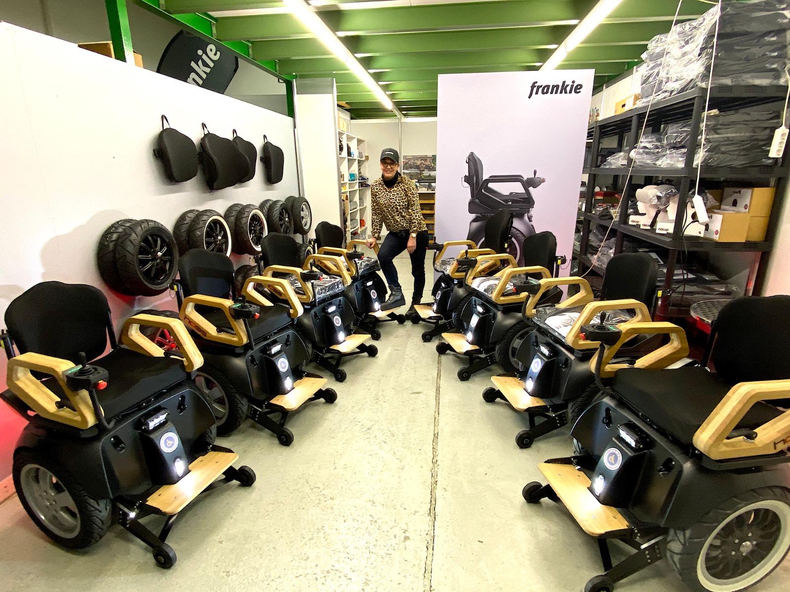 Video:  Zukunft Elektro Rollstuhl 2.1