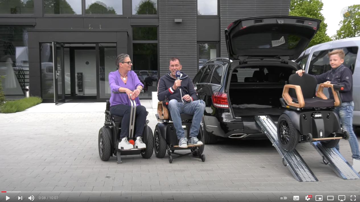 Video: Video: Neu Intelligentes Rollstuhl HOSS Verladesystem