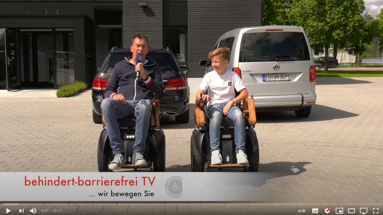 Video: Balance HOSS Rollstuhl Steuerung Neu