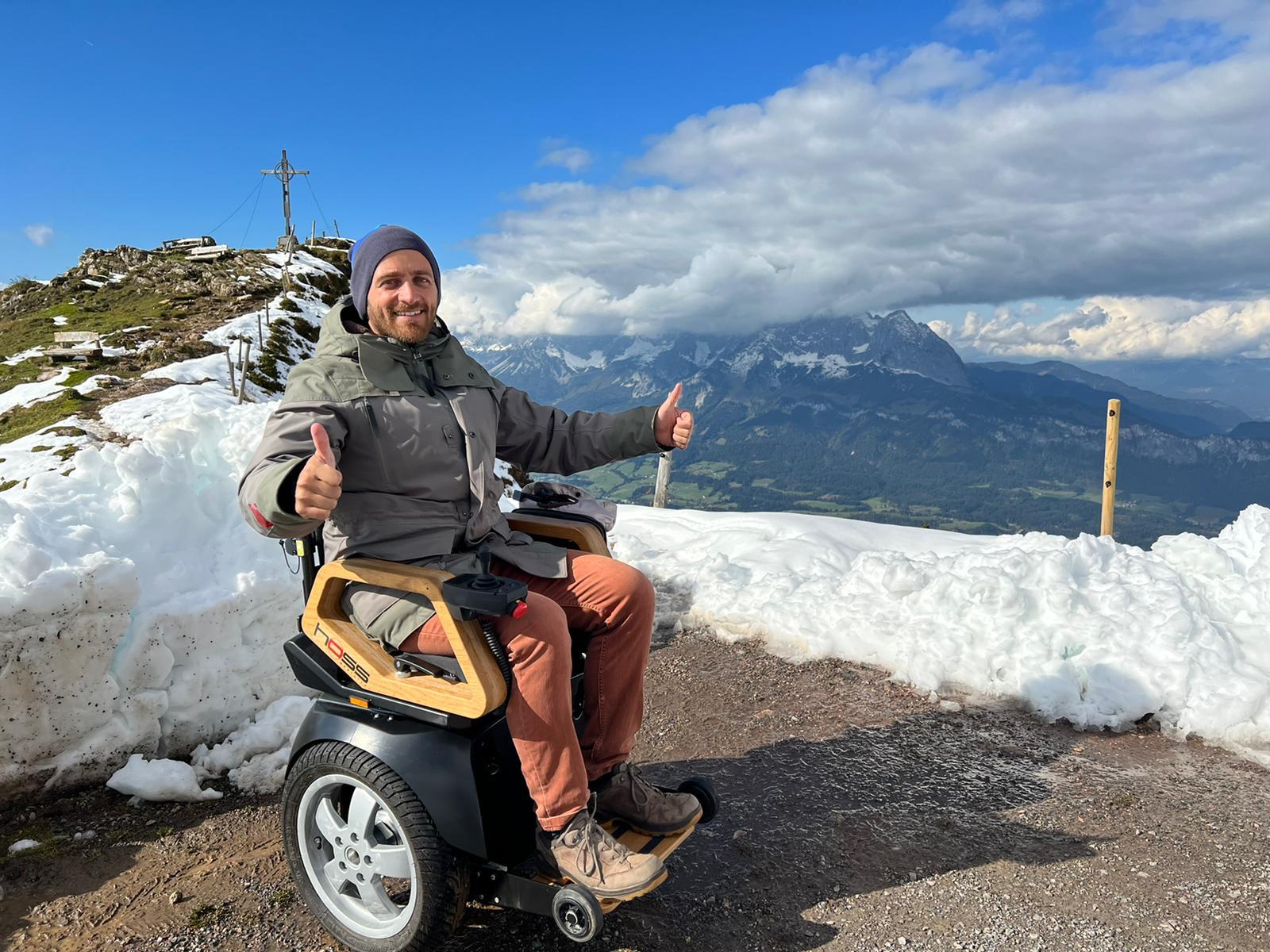 Video frankie: Rollstuhl HOSS Power Revolution - Welche Kriterien muss ein guter Elektro-Rollstuhl für uns erfüllen?