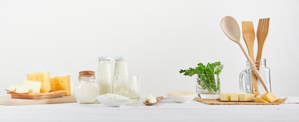 MIlchprodukte liefern wertvolles Kalzium für den Erhalt der Knochen