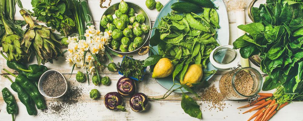 Grünes Gemüse vorbeugend für Osteoporose
