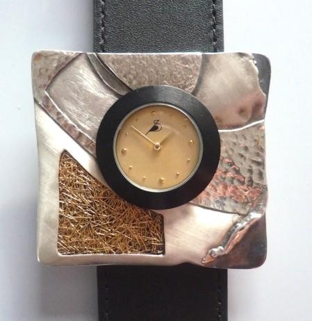 Silber 925, geschmort, mit Feingold