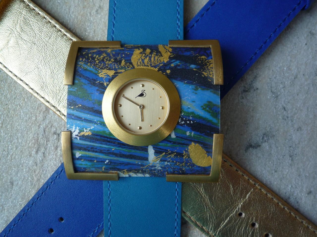 Varissima Uhr mit Schmuckscheibe F65 im Kreuchauff-Design