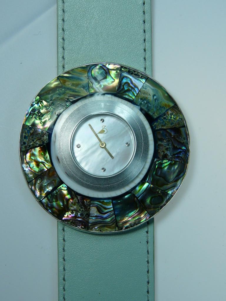Mosaik aus Abalone-Schnecke