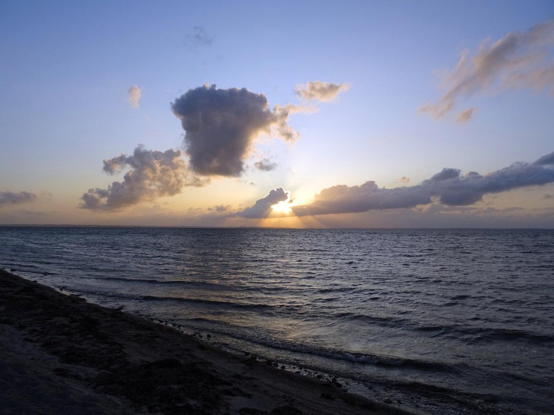 Sonnenuntergang am Kleinen Belt