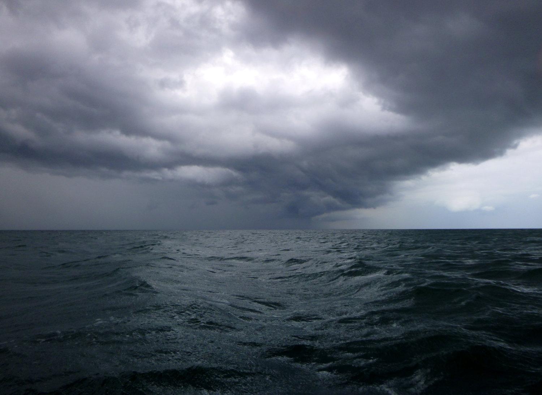 Himmelsspektakel auf See