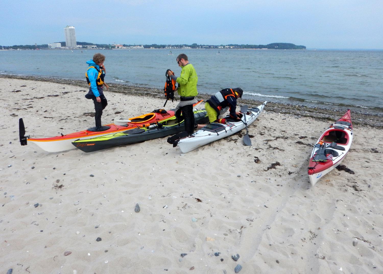 Vorbereitung für die Ostseefahrt