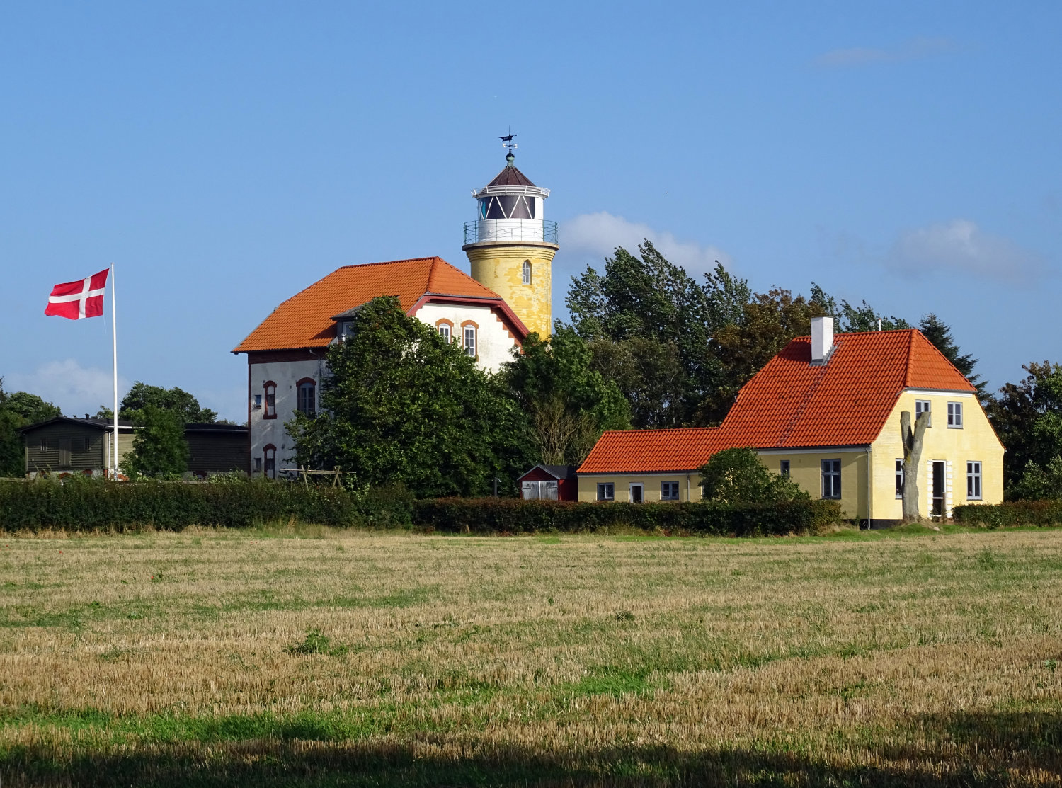 Augustenhof lighthouse