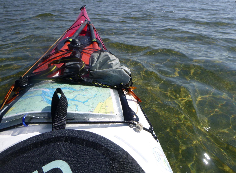 glasklares Wasser gibt es auch im Wattenmeer