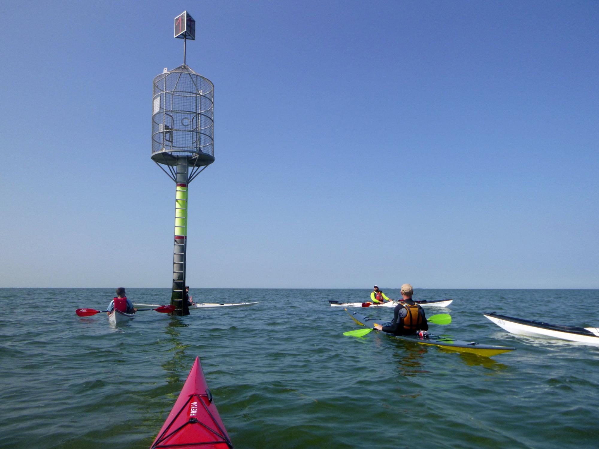 Prüfung zum EPP 4 Küste bei SeaKayak Kehdingen