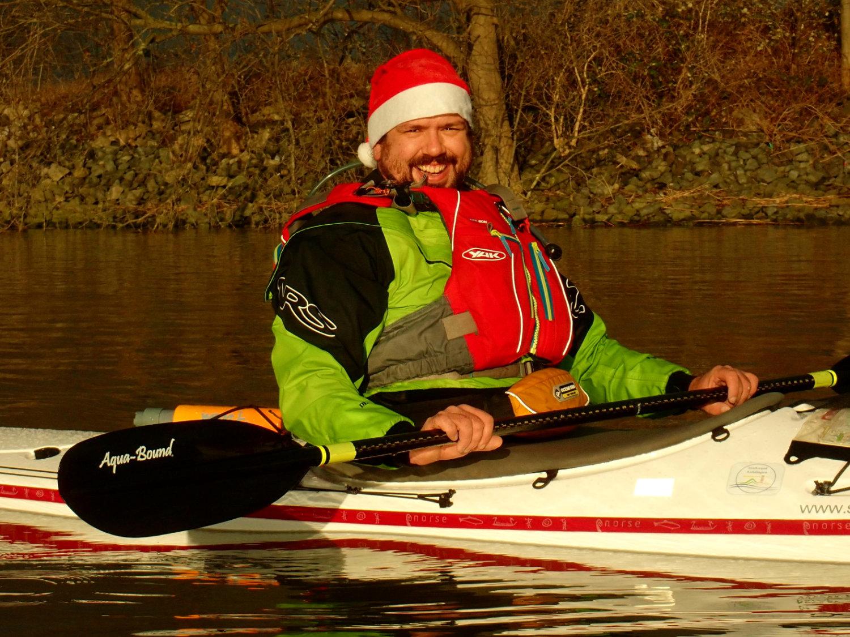 Weihnachtstour auf der Elbe