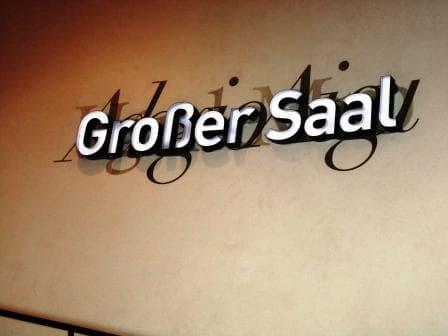 Elbphilharmonie - Der Große Saal, Orientierungsdesign