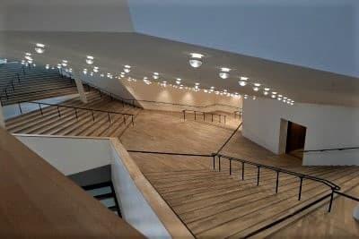 Elbphilharmonie-Führung - Treppe zum Konzertsaal